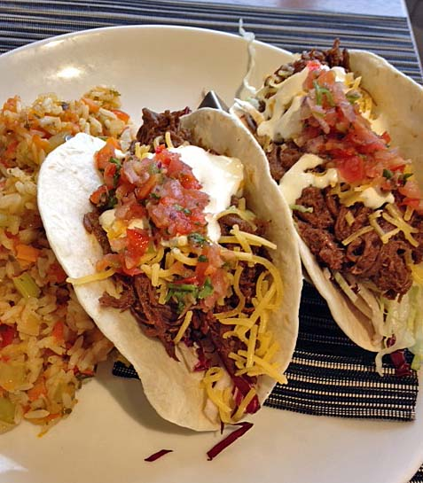 Short rib tacos - no sharing this time!