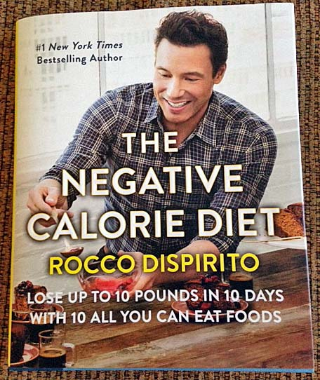 The cookbook's premise is centered on eating wholesome foods that naturally support weight loss because they burn more calories than they contain.