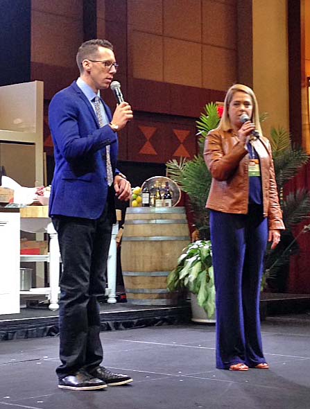 Ryan Kristopher, host of CT Style weekday mornings on WTNH, and Laurie Forster, The Wine Coach – demystifying wine one glass at a time, were this year's emcees.
