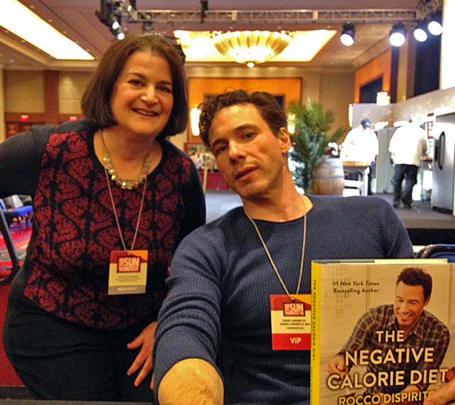I had the chance to chat with Rocco while he signed my copy of his new cookbook.