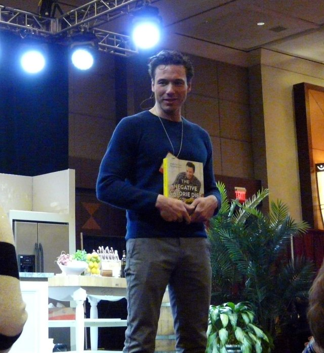 Headlining this year's demonstrations was Rocco Dispirito.
