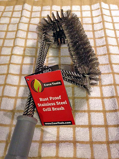 Cave Tools Stainless Steel Grill Brush