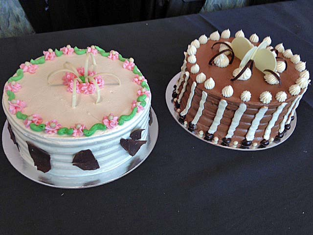 Even though we didn't win first prize in the competition, I like to think we did a great job with our cakes.